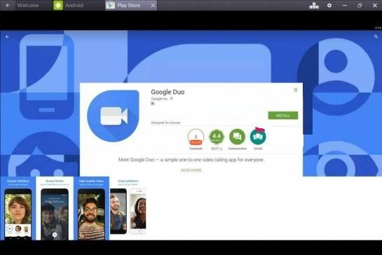 Google Duo Download for PC
