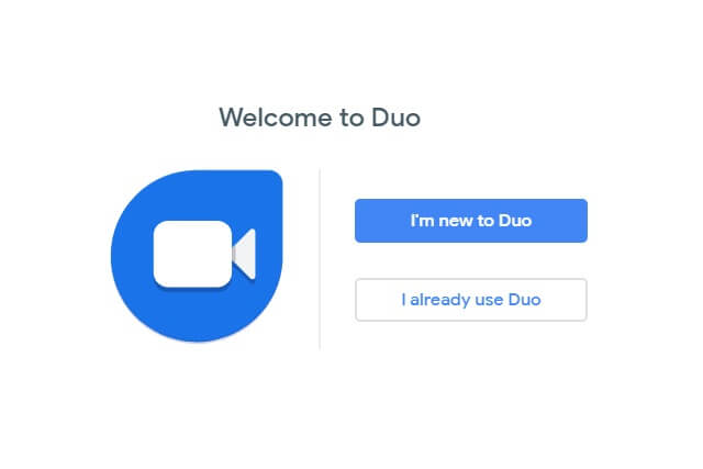 Click I'm new to Duo