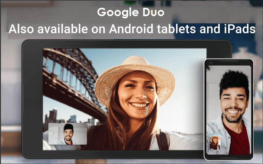 Google Duo for Tablet